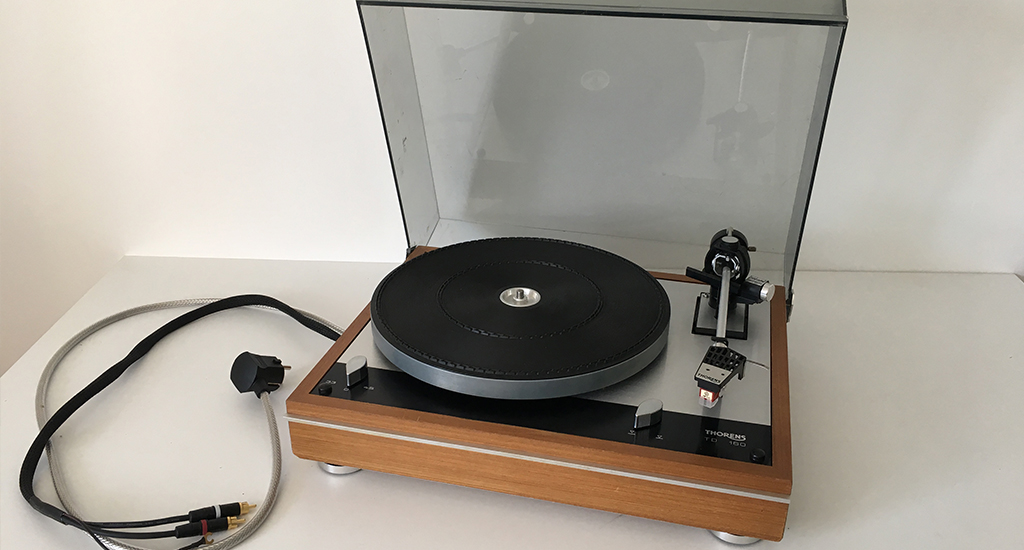 Révision réparation de platine vinyle thorens nantes france
