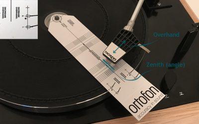 Réglage d'une platine vinyle