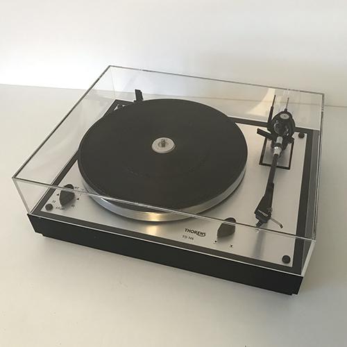 Capot platine vinyle thorens