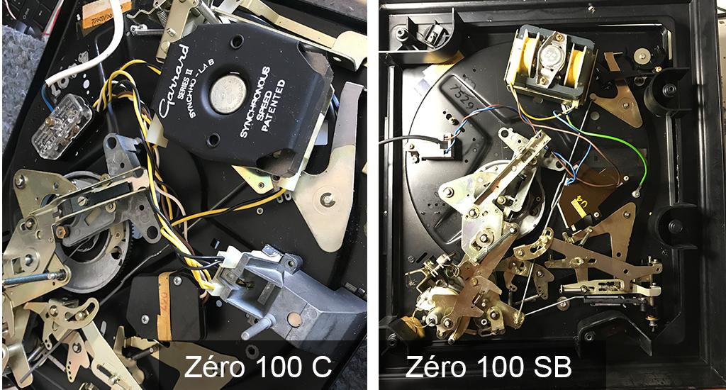 platine garrard zero 100 SB
