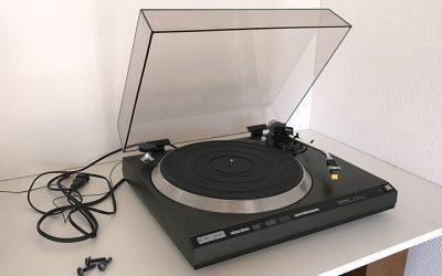 Technics SL-1410 mkII, présentation.